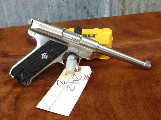 Ruger Mark II .22 semi auto Pistol