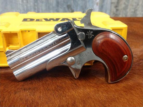 Davis Model D22 .22 Two shot Derringer Pistol