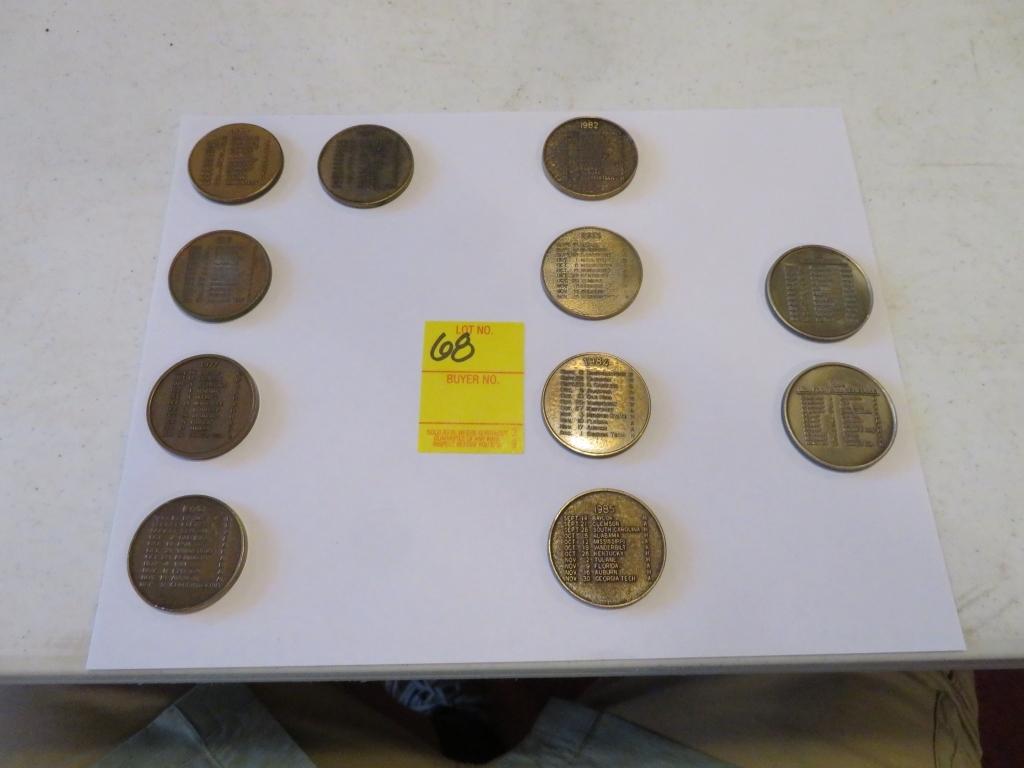 UGA Collector Coins