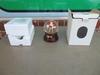 UGA Bulldog Snow Globe Music Box