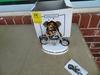 Bulldog on Motorcycle