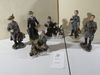 Lot of SIX Civil War Figurines