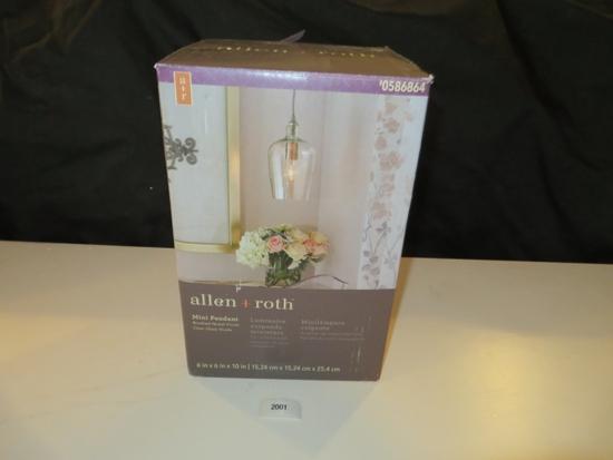 Allen Roth Mini Pendant Light