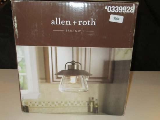 Allen Roth Bristow Pendant Light