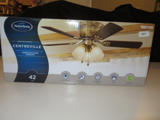 Harbor Breeze Centreville 42 ceiling fan