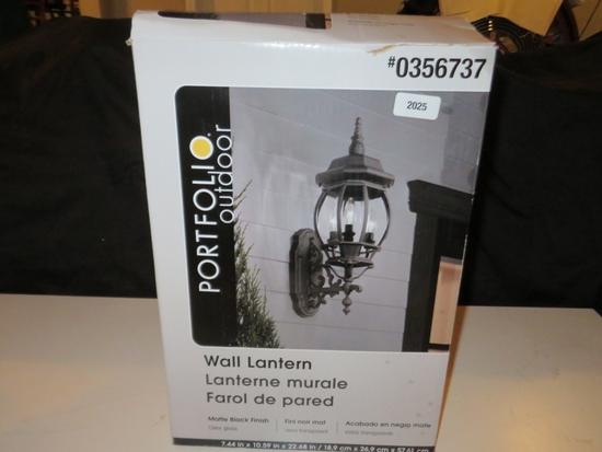 Portfolio Wall Lantern