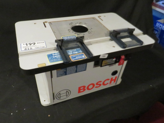 Bosch Router table (was used as a display)
