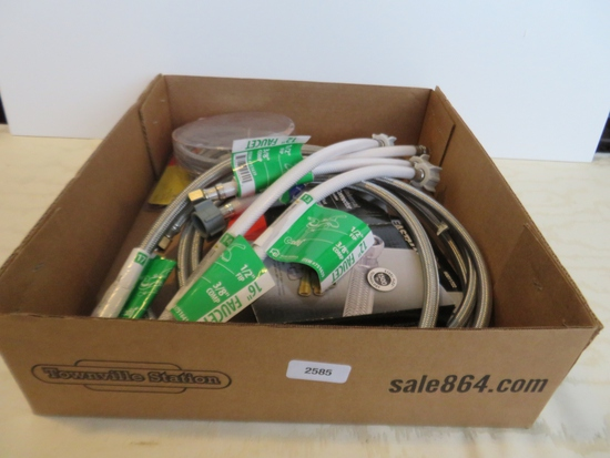 Lot of hoses and connectors