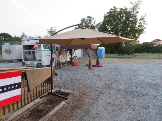 Offfset Patio Table Umbrella