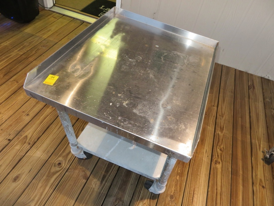 28 x 24 Stainless Rolling Cart