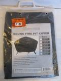 Sunnydaze Round Fire Pit Cover