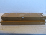 Lot of 2 Faux Wood Blinds