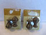 2 Packs of Levolor Finials