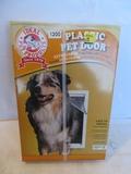 Ideal Pet Products Plastic Pet Door Extra Large