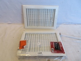 Lot of 2 Ceiling Registers 12 x 8