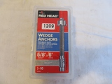 Box of Red Head Wedge Anchors
