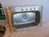 Elkay Stainless Steel Single Bowl Sink