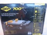 QEP 700xt Tile Wet Saw