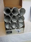 12 Everbilt 4 in x 8 ft Semi Rigid Aluminum Ducts
