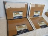 4 Quartet Cork Bulletin Boards