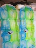 2 ESP Snow Twin Toboggans