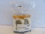 Bag of 5 Blue Hawk 5/16 Clevis Hooks