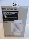 Everbilt Dryer Duct Lint Trap