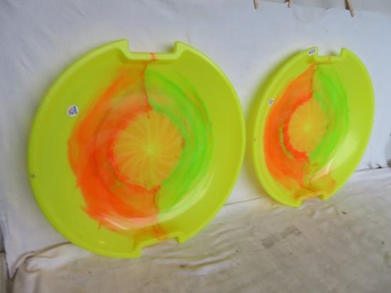 2 ESP Sledding Discs