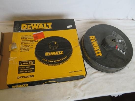 "Dewalt 18"" 3700PSI Pressure Washer Surface Cleaner"