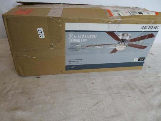52 in LED Hugger Ceiling Fan