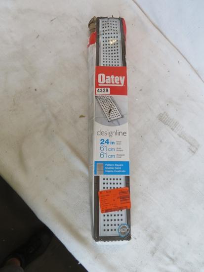 """Oatey 24 """" Linear Drain Square Pattern"""