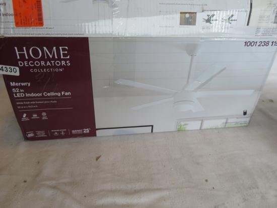 Home Decorators MERWRY 52 in LED Ceiling Fan
