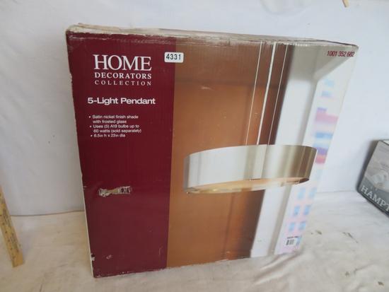 Home Decorators 5 Light Pendant