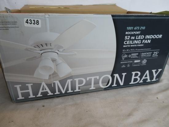 Hampton Bay ROCKPORT 52 in LED Ceiling Fan