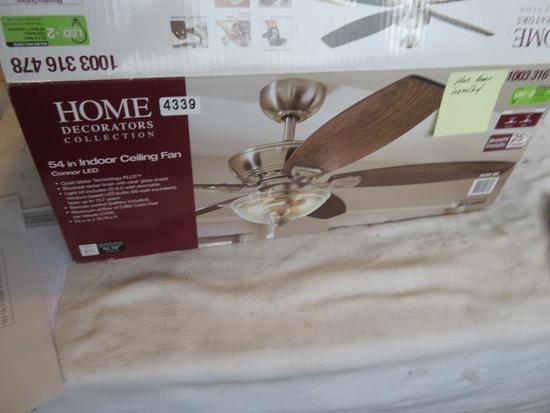 """Home Decorators CONNOR LED 54"""" Ceiling Fan"""