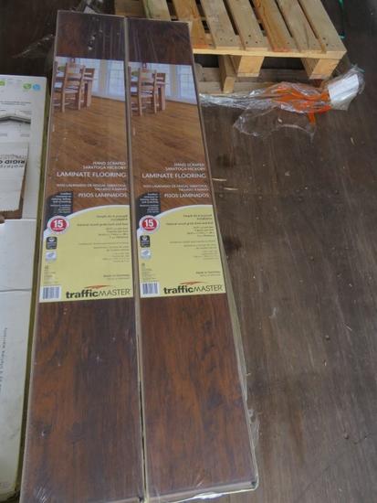 11 Boxes Trafficmaster Laminate Flooring