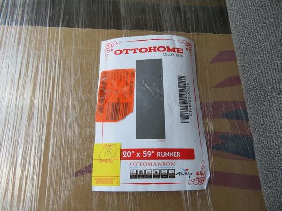 Ottohome 20 x 59 Runner Rug
