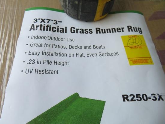 Arificial Grass Runner Rug 36 x 75