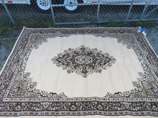 Unique Loom Reza Washington Ivory Rug 7 x 10