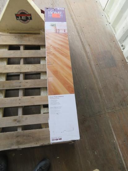 6 Boxes True Cherry LVP Flooring