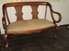 Settee w/ Great Curved Arms