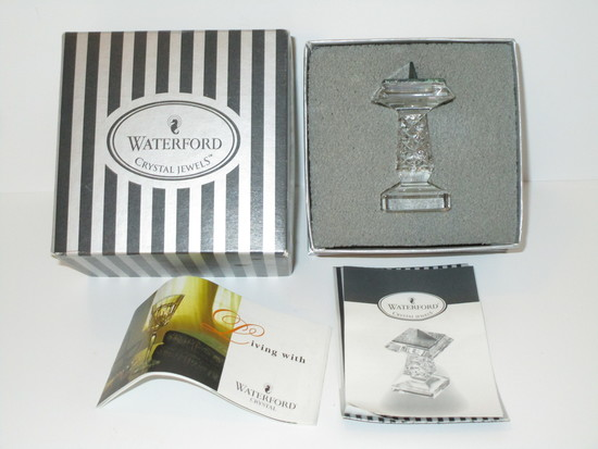 Waterford Crystal Candlestick in box
