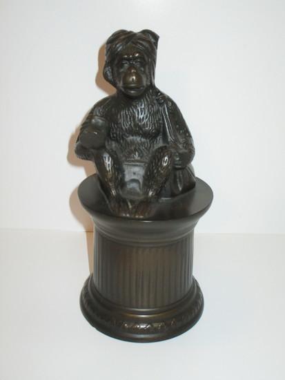"Resin Monkey Statue  9"" Tall"