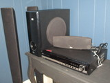 LG 5 Disc DVD Changer, Speakers & Other