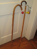 Novelty Cane w/ Mirror & Horn - Approx. 38.5