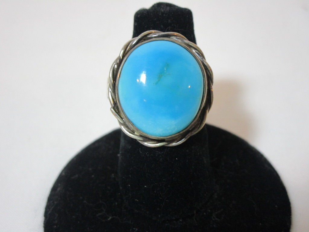 Sterling Ring w/ Turquoise Stones