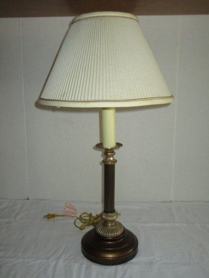 Candlestick Lamp w/ Shade - 26""