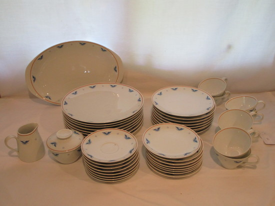 "Noritake ""Columbia"" - 8 Place Settings of China   44 pcs"