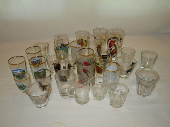 36 Misc. Shot Glasses