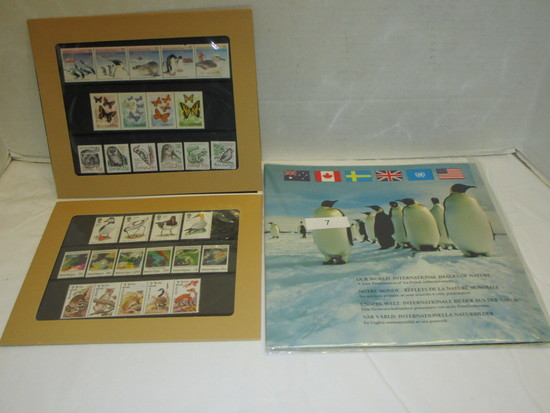 JOINT ISSUE AUSTRALIA, CANADA,& USA  NATURE